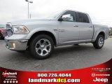 2014 Bright Silver Metallic Ram 1500 Laramie Crew Cab #96249112