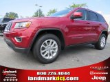 2014 Deep Cherry Red Crystal Pearl Jeep Grand Cherokee Laredo #96249102