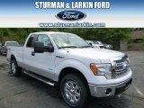 2014 Oxford White Ford F150 XLT SuperCab 4x4 #96249082
