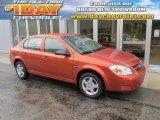 2007 Sunburst Orange Metallic Chevrolet Cobalt LS Sedan #96248910
