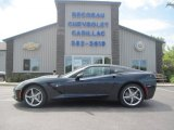 2014 Night Race Blue Metallic Chevrolet Corvette Stingray Coupe #96290543