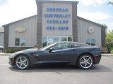 2014 Night Race Blue Metallic Chevrolet Corvette Stingray Coupe #96290543