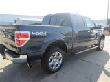 2014 Blue Jeans Ford F150 Lariat SuperCrew 4x4 #96290122