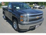 2014 Tungsten Metallic Chevrolet Silverado 1500 WT Regular Cab #96290446