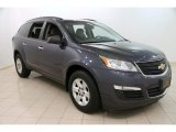 2013 Atlantis Blue Metallic Chevrolet Traverse LS AWD #96290437