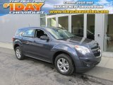 2014 Atlantis Blue Metallic Chevrolet Equinox LS #96290089