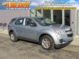 2014 Silver Topaz Metallic Chevrolet Equinox LS #96290088