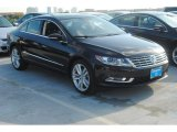 Deep Black Metallic Volkswagen CC in 2014