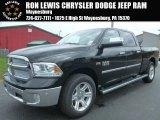 2014 Black Ram 1500 Laramie Limited Crew Cab 4x4 #96333116