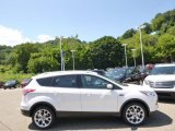 2014 White Platinum Ford Escape Titanium 1.6L EcoBoost 4WD #96332939