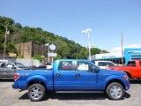 2014 Blue Flame Ford F150 STX SuperCrew 4x4 #96332937