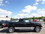 2014 Tuxedo Black Ford F150 XLT SuperCab 4x4 #96332848