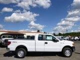 2014 Oxford White Ford F150 XL SuperCab 4x4 #96332832
