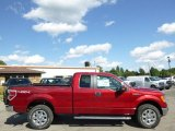 2014 Ruby Red Ford F150 XLT SuperCab 4x4 #96332830