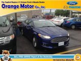 2013 Deep Impact Blue Metallic Ford Fusion Titanium AWD #96333087