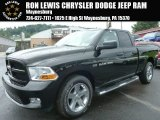 2012 Black Dodge Ram 1500 ST Quad Cab 4x4 #96333124