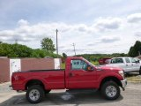 2015 Vermillion Red Ford F250 Super Duty XL Regular Cab #96378831
