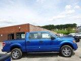 2014 Blue Flame Ford F150 STX SuperCrew 4x4 #96378824