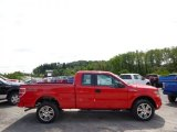 2014 Race Red Ford F150 STX SuperCab 4x4 #96378823