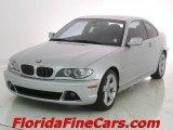 2004 Titanium Silver Metallic BMW 3 Series 325i Coupe #9625419