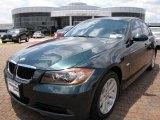 2007 Deep Green Metallic BMW 3 Series 328i Sedan #9636000