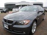 2007 Sparkling Graphite Metallic BMW 3 Series 335i Sedan #9635976