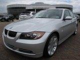 2008 Titanium Silver Metallic BMW 3 Series 335i Sedan #9636010