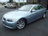 2009 Atlantic Blue Metallic BMW 3 Series 335i Convertible #96379035