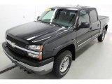 2003 Dark Gray Metallic Chevrolet Silverado 1500 LS Crew Cab 4x4 #96378675