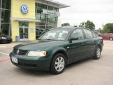 2000 Bright Green Metallic Volkswagen Passat GLS V6 Sedan #9635031