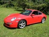 2005 Porsche 911 Guards Red