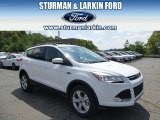 2014 Oxford White Ford Escape SE 2.0L EcoBoost 4WD #96470721