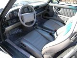 1993 Porsche 911 Carrera Cabriolet Classic Grey Interior