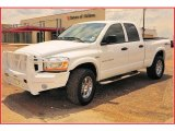 2006 Bright White Dodge Ram 1500 SLT Quad Cab 4x4 #9632121
