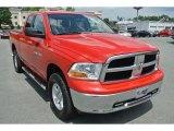 2012 Flame Red Dodge Ram 1500 SLT Quad Cab 4x4 #96470912