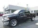 2012 Black Dodge Ram 1500 SLT Crew Cab 4x4 #96470861