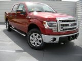 2014 Ruby Red Ford F150 XLT SuperCrew 4x4 #96470785