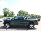 2014 Rainforest Green Metallic Chevrolet Silverado 1500 LT Double Cab 4x4 #96471051