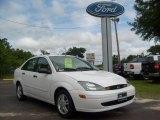 2003 Cloud 9 White Ford Focus SE Sedan #9625924
