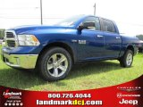 2014 Blue Streak Pearl Coat Ram 1500 Big Horn Crew Cab #96507674