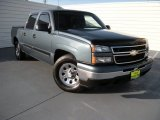 2006 Blue Granite Metallic Chevrolet Silverado 1500 LS Crew Cab #96507892