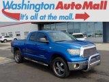 2008 Blue Streak Metallic Toyota Tundra SR5 Double Cab 4x4 #96544604