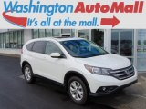 2013 White Diamond Pearl Honda CR-V EX AWD #96544589