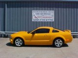 2007 Grabber Orange Ford Mustang GT Premium Coupe #9636731