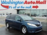 2011 South Pacific Blue Pearl Toyota Sienna LE #96544588