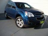 2010 Navy Blue Metallic Chevrolet Equinox LS #96544754