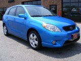 2007 Speedway Blue Pearl Toyota Matrix XR #9619750
