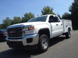 2015 GMC Sierra 2500HD Double Cab Utility Truck Data, Info and Specs