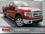 2014 Ruby Red Ford F150 XLT SuperCrew 4x4 #96544746