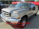 2003 Arizona Beige Metallic Ford F250 Super Duty Lariat Crew Cab 4x4 #96592378